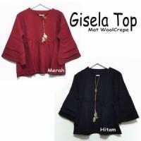 Baju Atasan Blouse Gisela Top Tunik Baju Muslim Blus Muslim