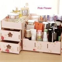 Rak kosmetik Kayu  04 BIG SIZE Cosmetic Storage Station Berkualitas