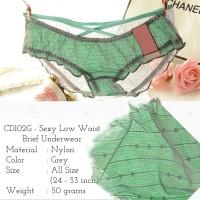 Celana Dalam Transparan CD Wanita G-String Cewek Thong Boxer - CD102