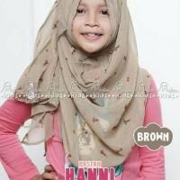 Pastan Pashmina Instan Kerudung Anak Hanni Miulan Hijab