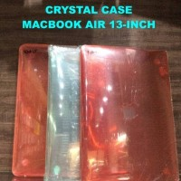 case casing cover sarung Crystal case macbook Air 13