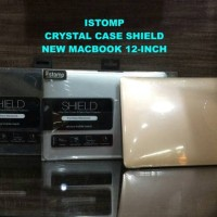 case casing cover sarung Istomp crystal shield New Macbook 12