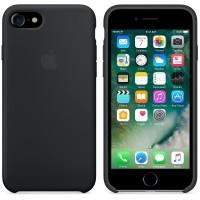 Apple Silicone Case for iPhone 7 - Black (ORIGINAL)