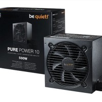 be quiet! PURE POWER 10 500W - 80  Silver Certified
