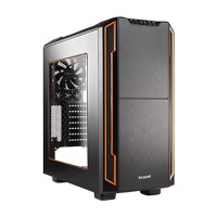 be quiet! Gaming Case SILENT BASE 600 Orange with Side Window