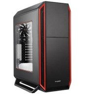 be quiet! Gaming Case SILENT BASE 800 Red with Side Window