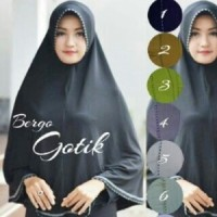 Jilbab/ Hijab Bergo Gotik