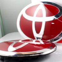(Sale) Emblem Body Logo Toyota Avanza (Depan&Belakang)