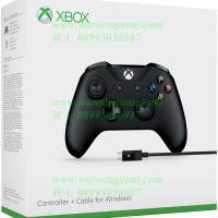 Microsoft Xbox One Slim Controller + Cable for Windows