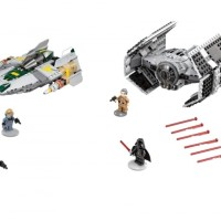 Star Wars Rebels Darth Vader TIE Advanced vs. A-Wing 75150 Lepin 05030