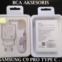 CHARGER SAMSUNG C9 PRO EP-TA600 TYPE C - FAST CHARGING ORIGINAL 99%