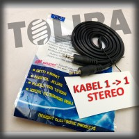 kabel audio 1-1 stereo hp pc laptop /Cable Aux Audio 3.5mm Stereo Jack