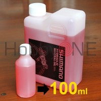 Shimano Hydraulic Mineral Oil - Eceran 100ml - Oli Bleeding