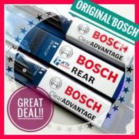 Paket Wiper Depan Belakang Mazda Biante BOSCH Clear Advantage + REAR