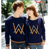 Sweater Alan Walker Rajut Navy