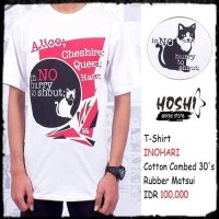 T-Shirt Distro Kaos Anime INOHARI