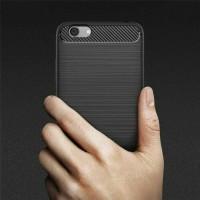 Softcase / Soft Case Vivo Y69 / Y 69 Cover Fiber Silicon Carbon Case