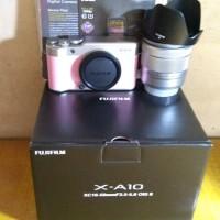 Fujifilm X-A10 XA10 X A10 kit 16-50mm OIS II Pink