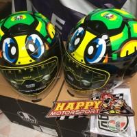 Helm AGV Fluid Tartaruga made in Italy size M L XL dual visor halfface