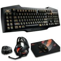 1 Set Gaming Gear Asus Strix (Keyboard, Mouse, Headset, Mousepad)