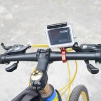 Bike Aluminum Mount Bicycle Handlebar Motorcycle For Go Pro Hero 6