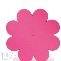137 Flower Sponge Pink