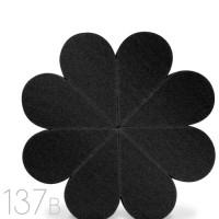 137 Flower Sponge Black (Hitam)