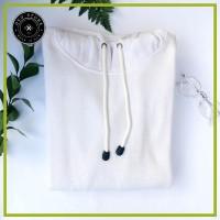 TERLARIS Jaket Sweater Polos Hoodie Jumper Putih TERMURAH
