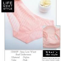 Celana Dalam Transparan CD Wanita G-String Cewek Thong Boxer - CD100