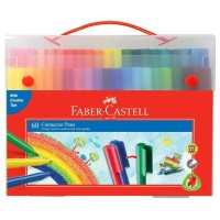 Faber Castell Connector Pen 60 Colors Spidol Warna