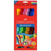 Faber Castell Connector Pen 30 Colors Spidol Warna