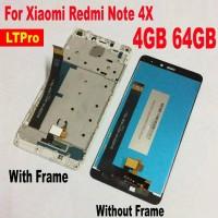 Xiaomi Redmi Note 4X Pro 4GB 64GB LCD Touch Screen Part (tanpa Frame)