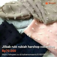 jilbab rubi rubiah harshop collection