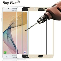 Tempered glass warna Samsung J7 Plus anti gores kaca warna J7Plus J7+