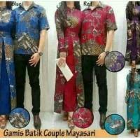 termurah couple Batik Gamis mayasari