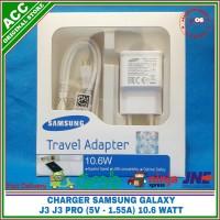 Charger Samsung Galaxy J3 J3 Pro ORIGINAL 100% 5V - 1.55A (10.6 Watt) - Putih