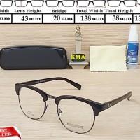Frame kacamata lensa minus Gentle monster club master kacamata vintage