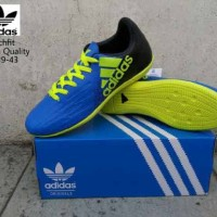 sepatu futsal adidas x techfit biru premium sz 39-44 import