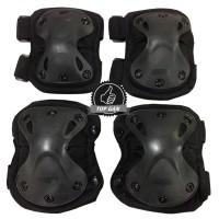 Deker Airsoft 088 Pelindung Siku dan Lutut - Tactical Outdoor Motor