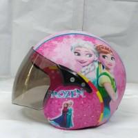 helm anak standart karakter frozen