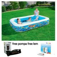 kolam renang anak karakter 2 meter pelampung bestway kado hadiah anak