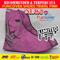 Limited Edition | Cover Sepatu | Funcover Shoes Tribal Warna Pink
