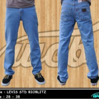 celana jeans levis biru langit standar/regular