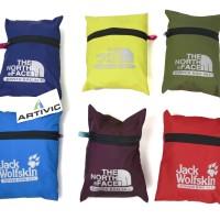 Rain Cover Tas / Cover Bag Carrier merk TNF/JWS 80L Murah