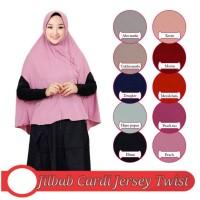 Jilbab Khimar Intsan model OSD cardi bahan jersey