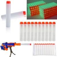 Peluru Busa Nerf Gun Lunak Aman Buat Anak Glow In The Dark min 100 pcs