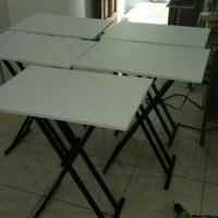 meja lipat 1pcs bisa untuk meja cafe meja bazar dan tahan air