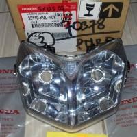 Lampu depan / Reflektor / Head Lamp Supra x 125 07 ke atas genuine AHM