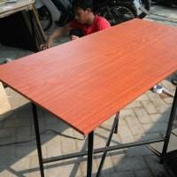 meja lipat cafe uk.120x60 bisa untuk bazar restaurant acara dll
