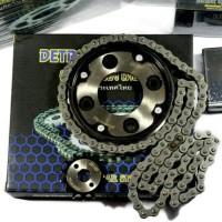 Gir Set/Gear Paket/Chain Kit Baja Absolute Revo/Blade Detroit Of Thai